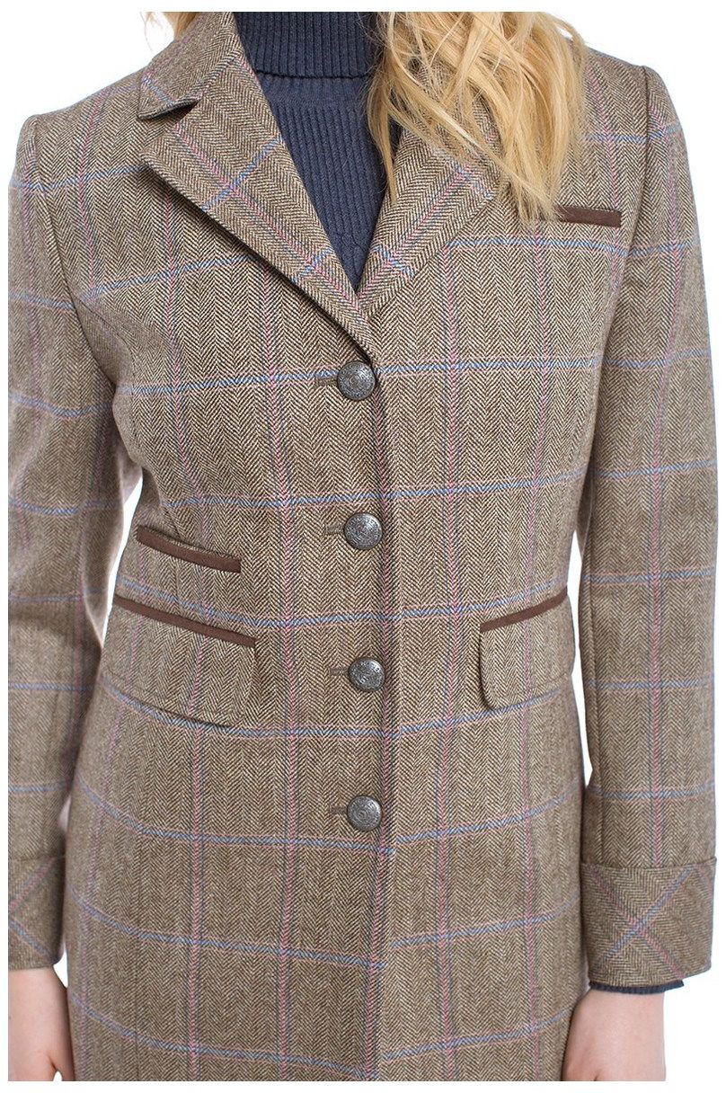 Vêtements lifestyle Manteau long en tweed Femme Blackthorn Dubarry - 18