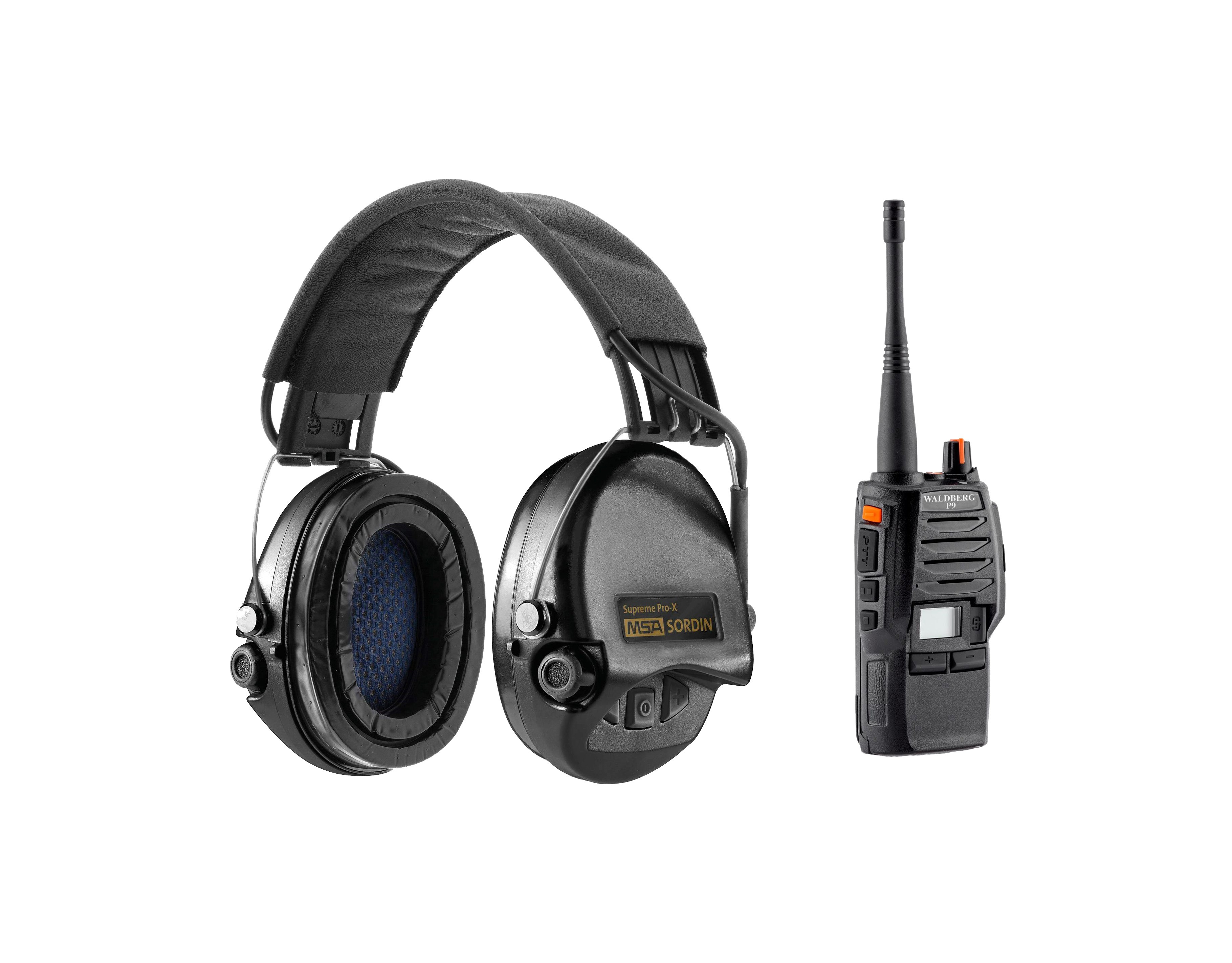 Equipement Pack Casque Supreme Pro X & Talkie Walkie MSA - 1