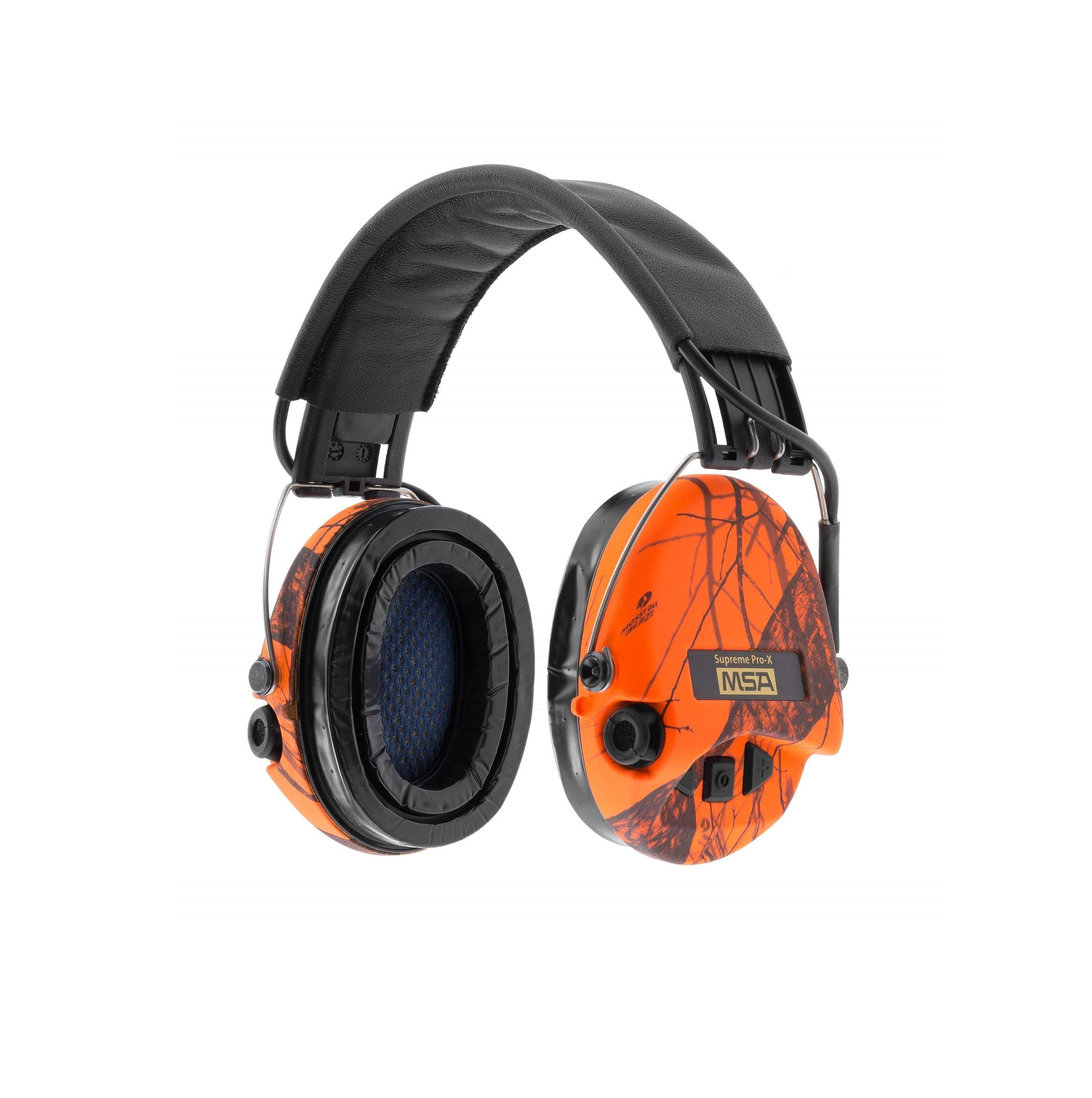 Equipement Casque de protection Supreme Pro X Camo Orange MSA - 1