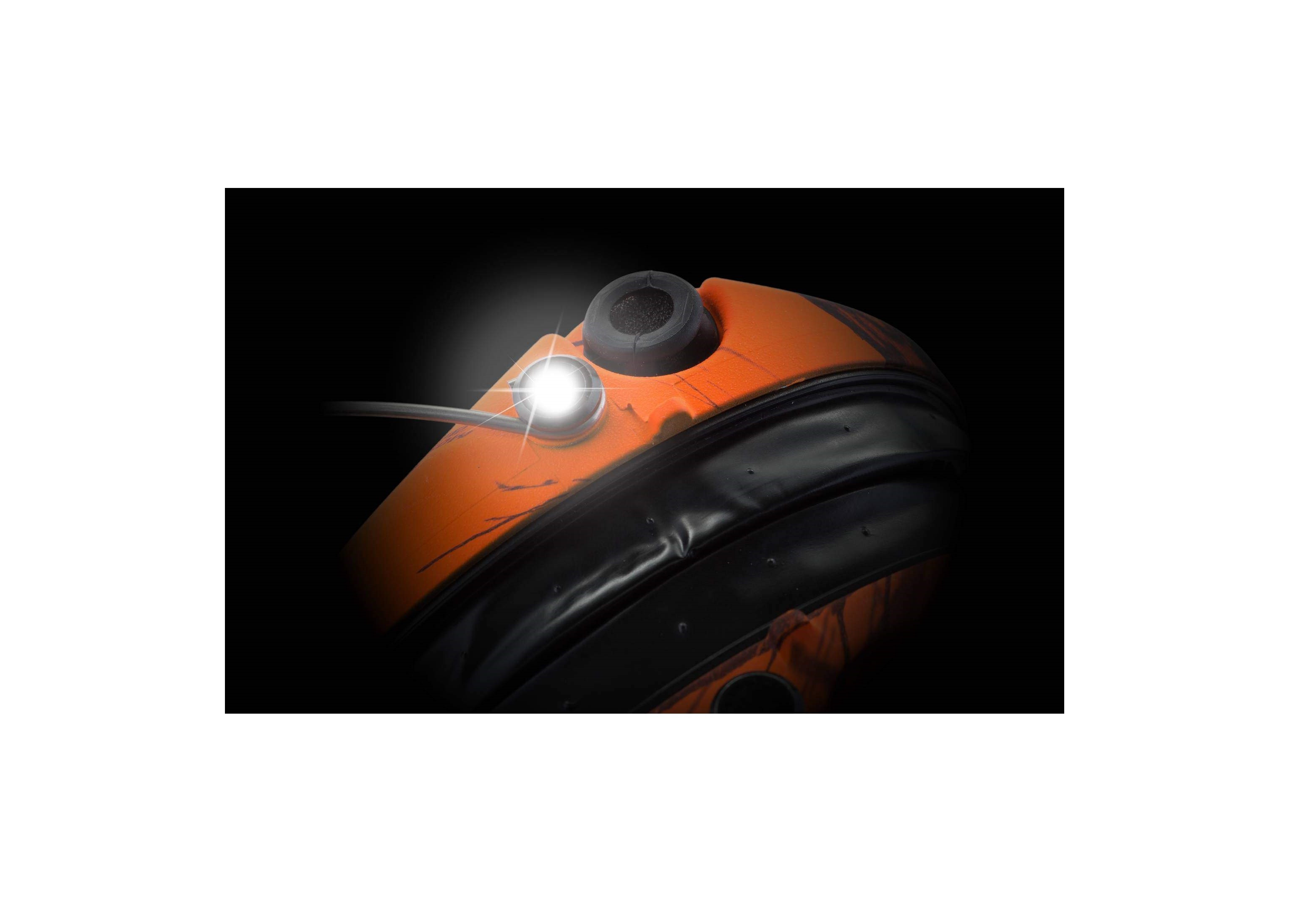 Equipement Casque de protection Supreme Pro X Camo Orange MSA - 3
