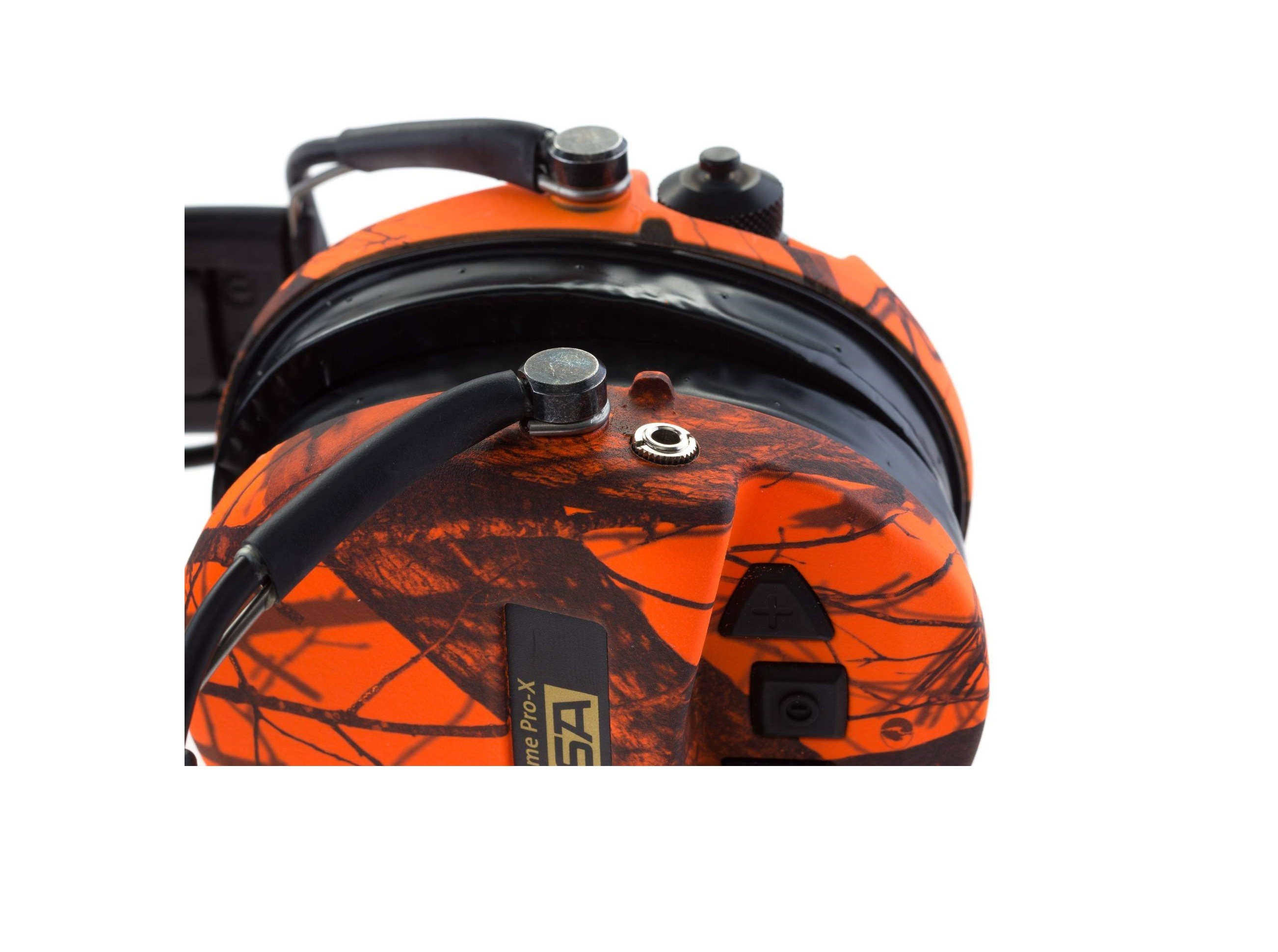 Equipement Casque de protection Supreme Pro X Camo Orange MSA - 5