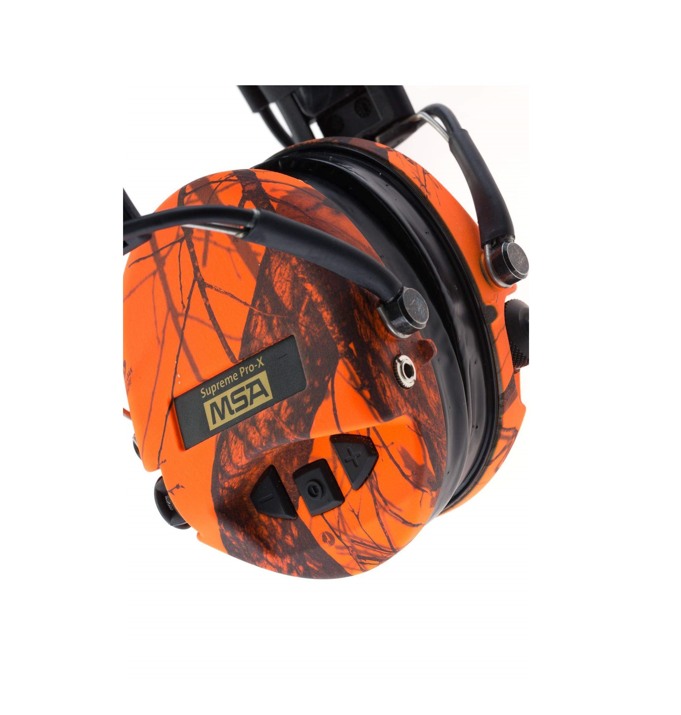 Equipement Casque de protection Supreme Pro X Camo Orange MSA - 6