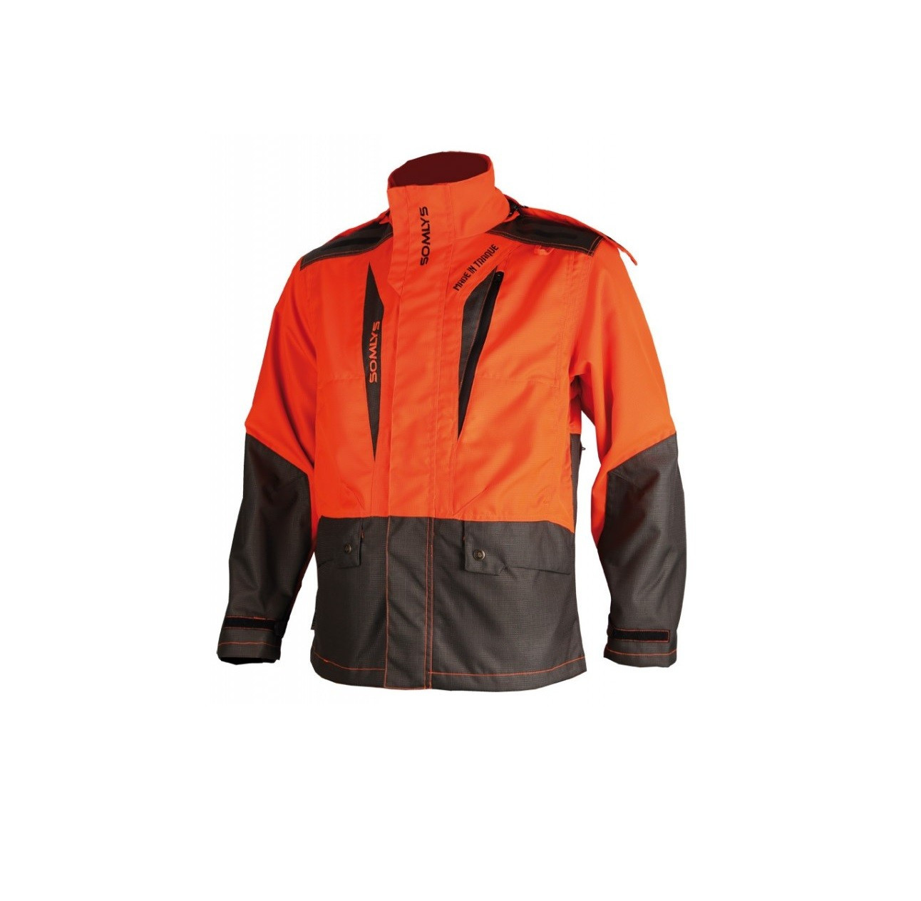 Vêtements de chasse Veste de traque Orange 453N Made In Traque Somlys - 1