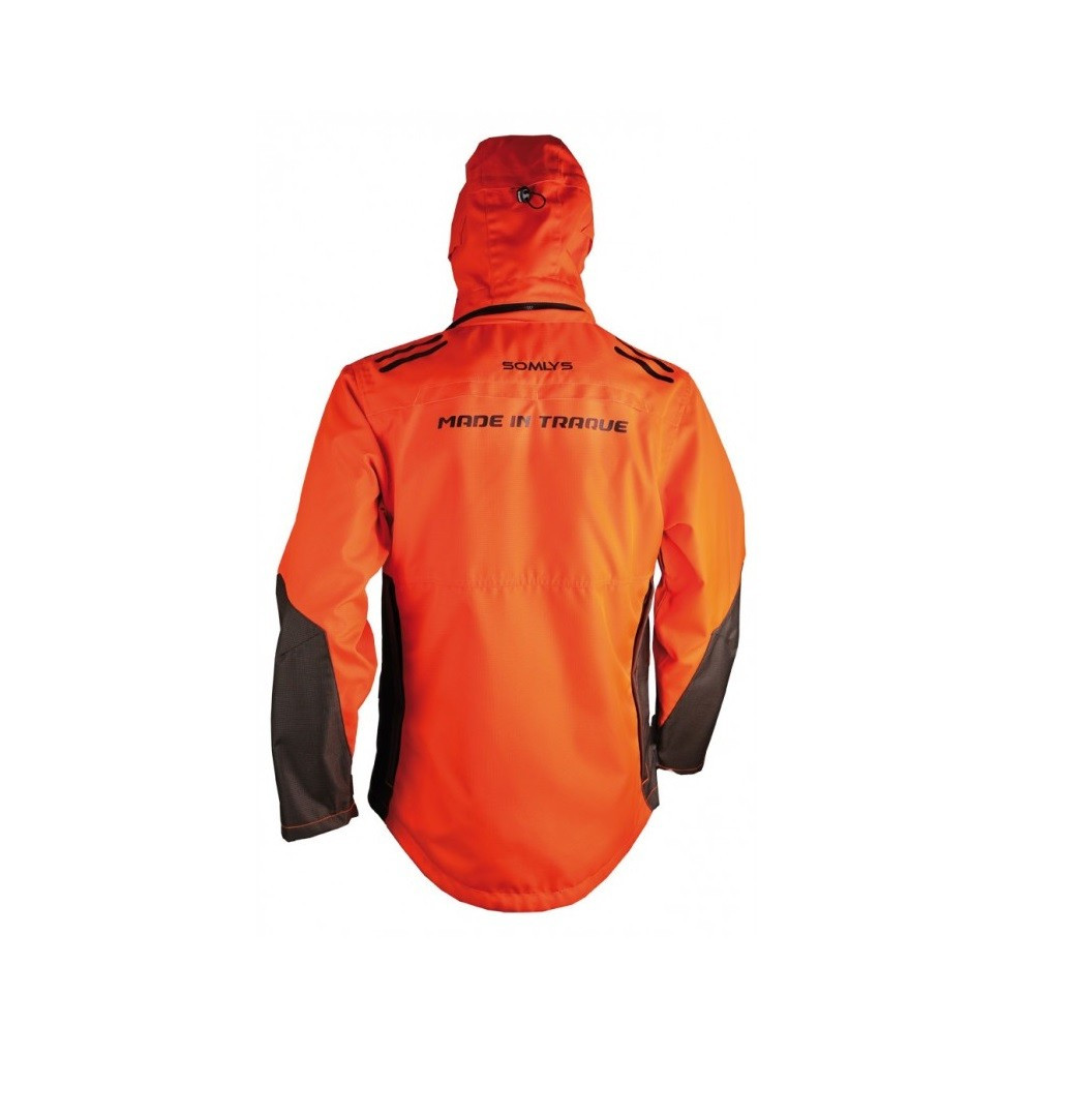 Vêtements de chasse Veste de traque Orange 453N Made In Traque Somlys - 2