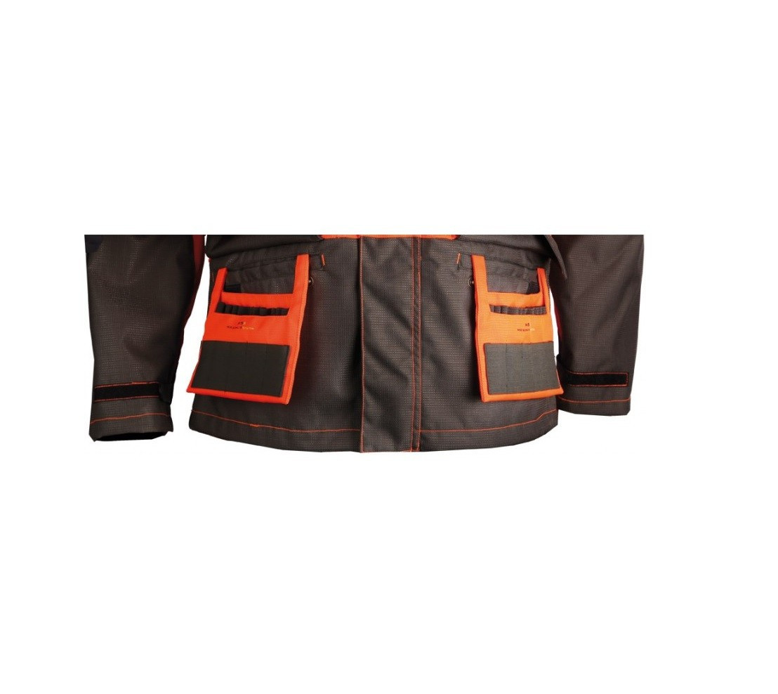 Vêtements de chasse Veste de traque Orange 453N Made In Traque Somlys - 4