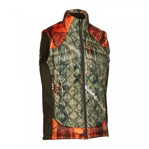 Gilet Cumberland Quilted Camo Orange Deerhunter - Champgrand 64a7ad9f322